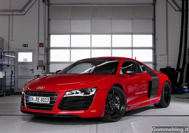 "Audi R8 e-tron: Record al Nürburgring in 8'09"".099 [VIDEO – FOTO]"