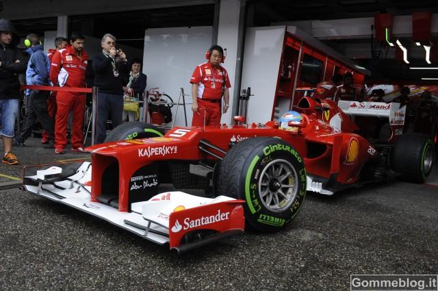 F1 Hockenheim: Un debutto interrotto dalla pioggia per la nuova mescola hard sperimentale Pirelli