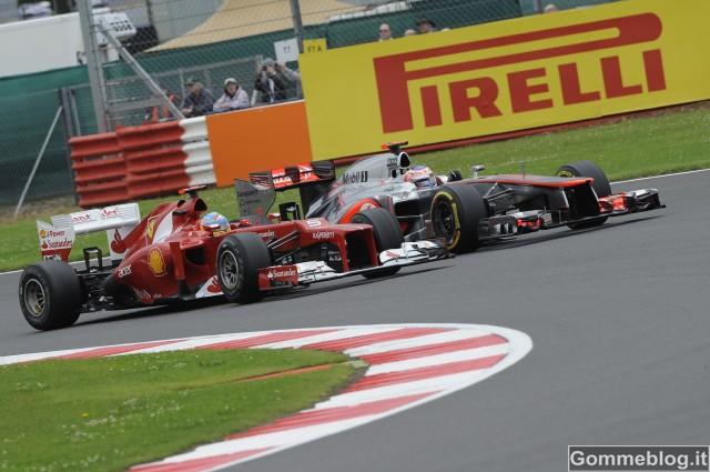Formula 1 Silverstone: le gomme Pirelli Cinturato Green in pole per la prima volta con Alonso