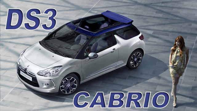 Citroen DS3 Cabrio: [FOTO] [VIDEO]