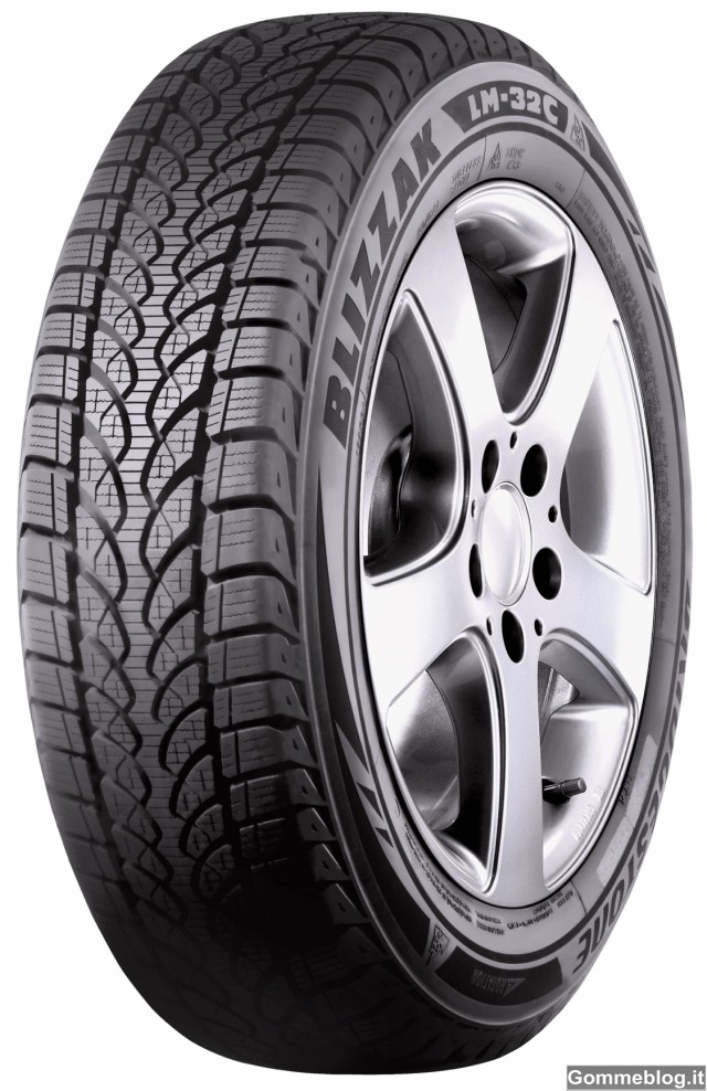 Bridgestone Blizzak LM-32C: pneumatici invernali per Van e CDV