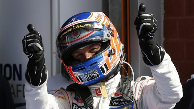 F1 Spa: Button conquista la sua Prima Pole position con Pirelli 42