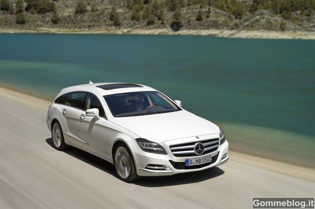 Mercedes CLS Shooting Brake: L'indipendenza al massimo della sua espressività