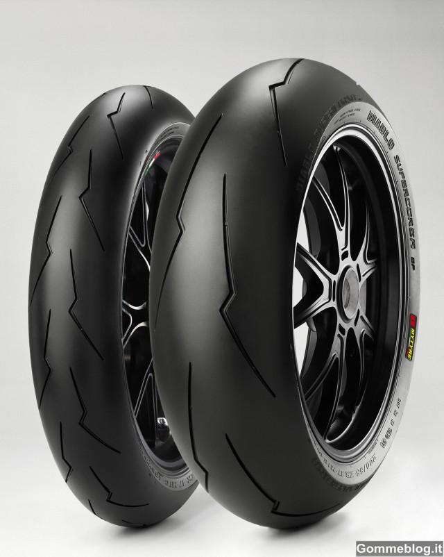 Pirelli Diablo Supercorsa SP: 1° equipaggiamento per BMW HP4 3