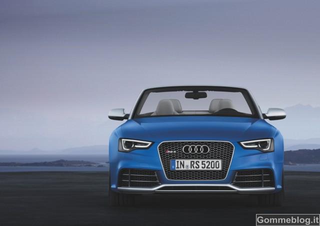 Audi RS 5 Cabriolet, dinamismo a cielo aperto