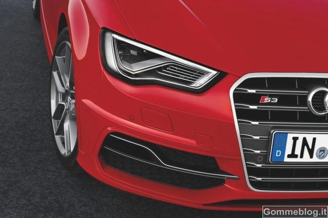 Nuova Audi S3: arriva il 2.0 TFSI da 300 CV