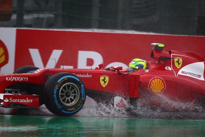 F1 Spa: Pneumatici da bagnato Pirelli Cinturato protagonisti delle prove libere