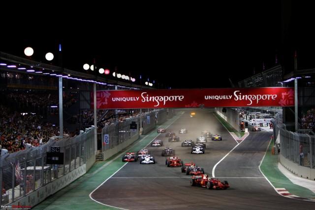 Formula 1: Il Gran Premio di Singapore dal punto di vista degli pneumatici