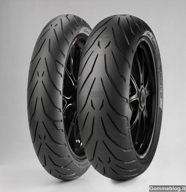 Pirelli Angel GT: nuovi pneumatici moto Granturismo 2