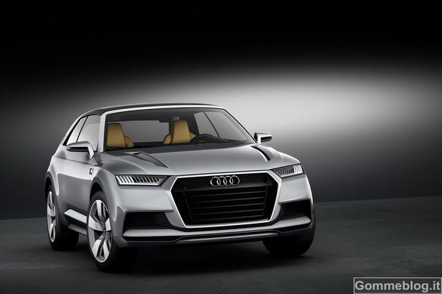 """Audi Crosslane Coupé: ecco come saranno i futuri audi """"Q"""""""