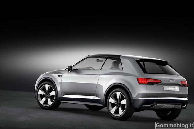 """Audi Crosslane Coupé: ecco come saranno i futuri audi """"Q"""" 2"""