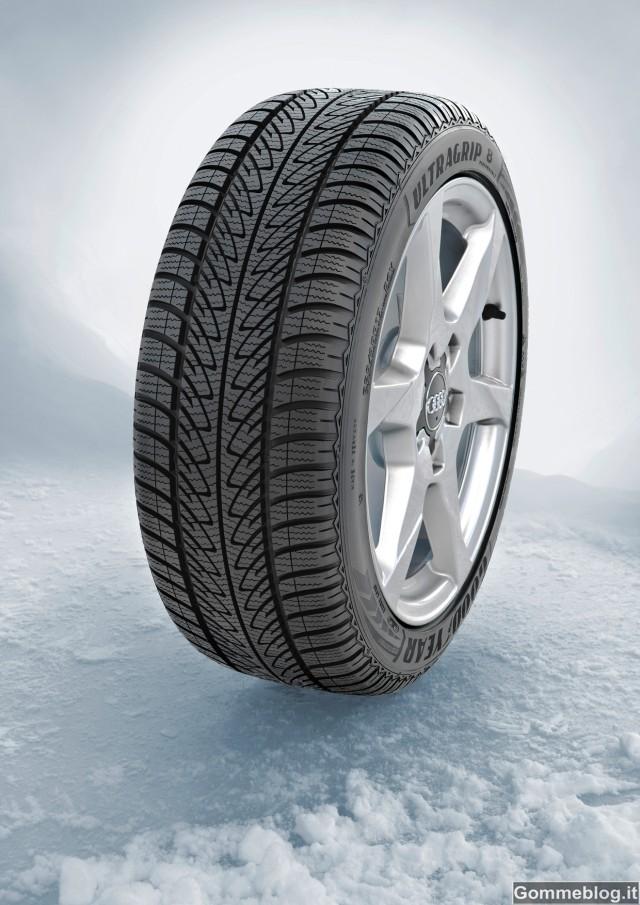 Goodyear UltraGrip 8 Performance: pneumatici invernali neve e ghiaccio 2