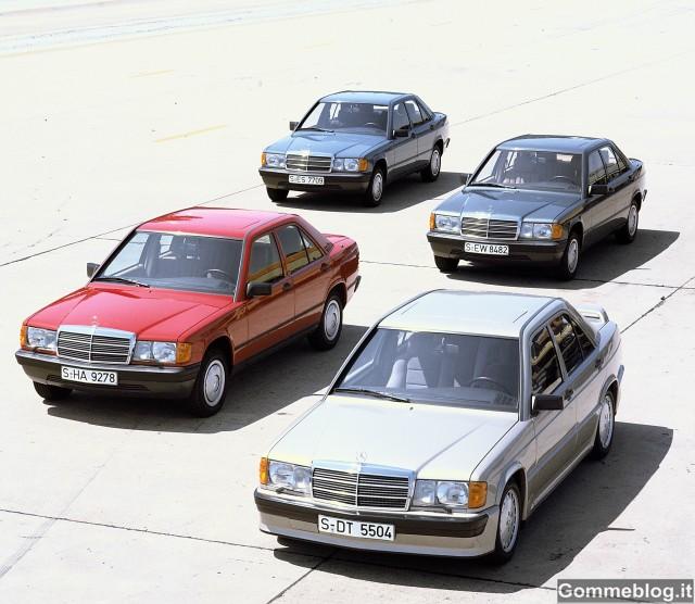 """Mercedes, 30 anni di Classe C: da """"Baby Benz"""" a Bestseller 3"""