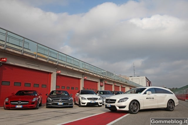 Mercedes CLS 63 AMG Shooting Brake: nuova Stella per AMG Driving Academy