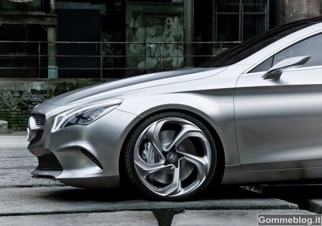 Mercedes Concept Style Coupé: il nuovo fascino della sportività
