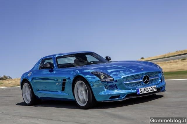 Mercedes SLS AMG Coupé Electric Drive 2