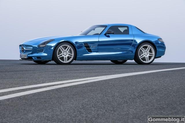 Mercedes SLS AMG Coupé Electric Drive 4