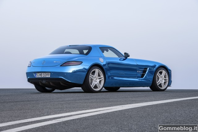 Mercedes SLS AMG Coupé Electric Drive 3