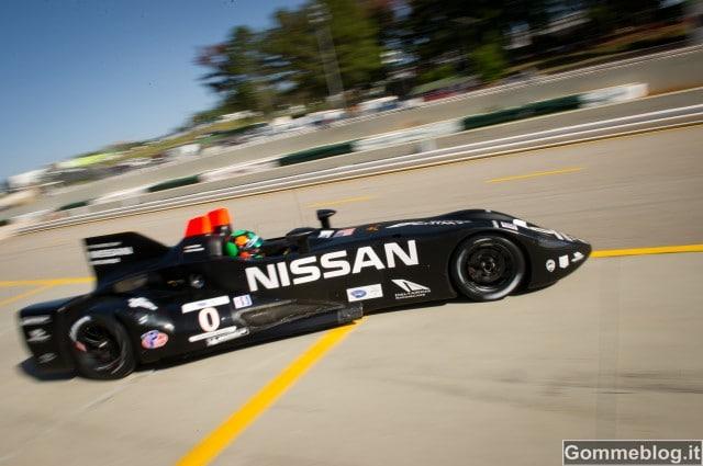 Michelin e Nissan Deltawing: 5° posto assoluto nella faticosa Petit Le Mans 5
