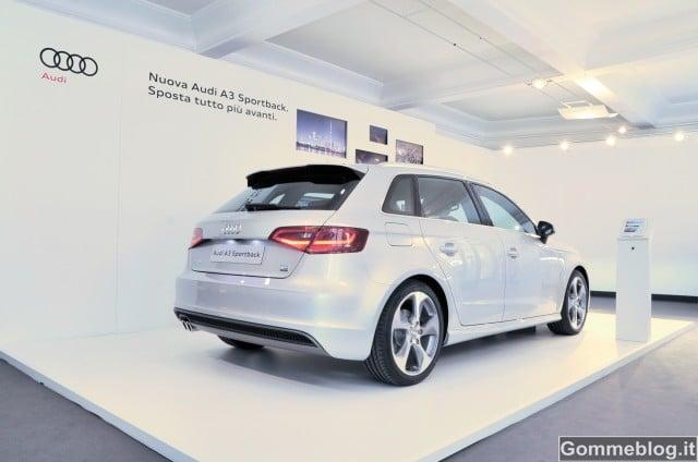 Nuova Audi A3 Sportback: al via il Tour per l'Italia