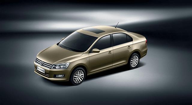 Nuova Volkswagen Santana, una delle auto di maggior successo in Cina