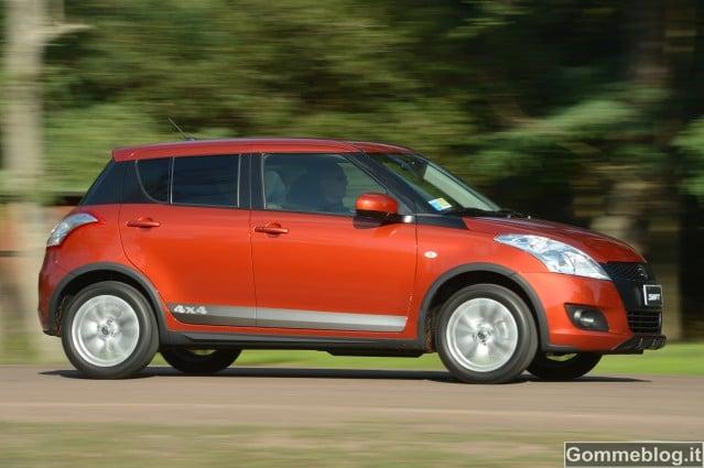 Suzuki Swift 4x4 Outdoor: nuovo crossover compatto a trazione integrale 2