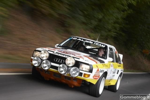 """Audi Rally quattro e Audi Sport quattro al Salone """"Auto e Moto d'Epoca"""""""