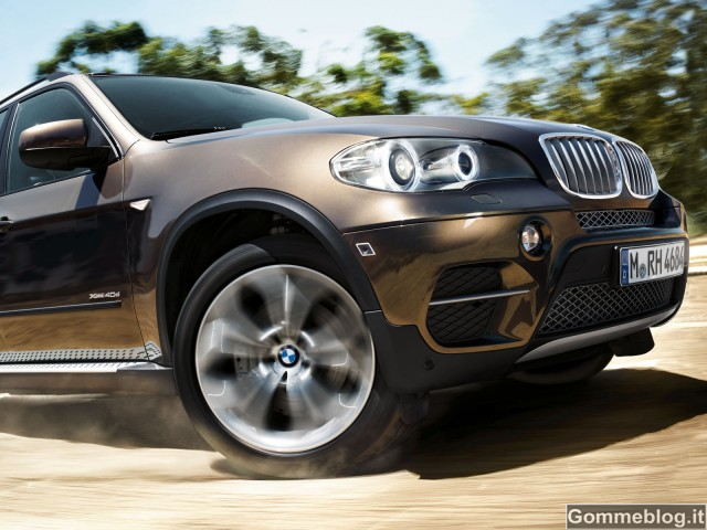 BMW X5 e X6 scelgono i nuovi Pirelli P Zero SUV da 21 pollici