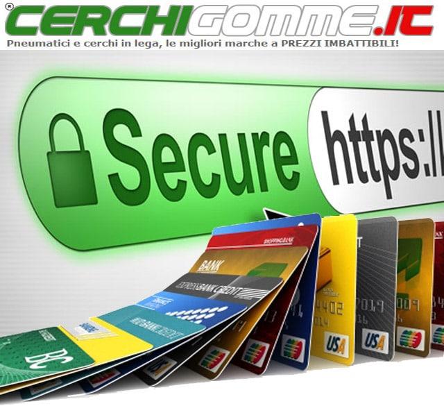 """Acquistare Pneumatici Online: Regole per un """"pagamento sicuro"""""""