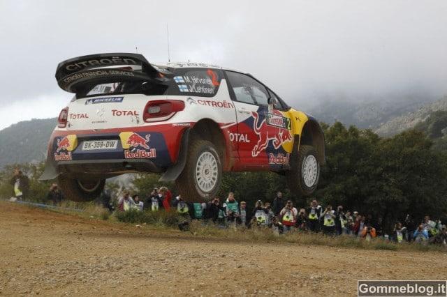 Rally Sardegna Italia: vince Hirvonen su Citroën gommata Michelin 1