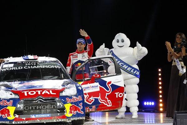 Rally WRC 2012: Citroen è Campione del Mondo
