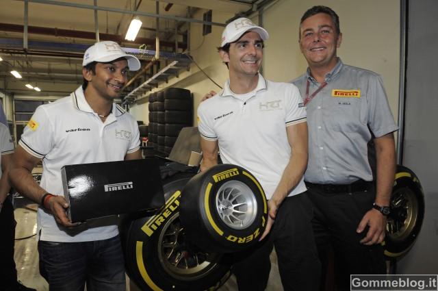 Formula 1: alla sfida cambio gomme Pirelli, vince De la Rosa