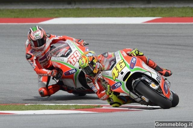 MotoGP Malesia: Hayden 4°, Rossi 5° sotto il diluvio Malese