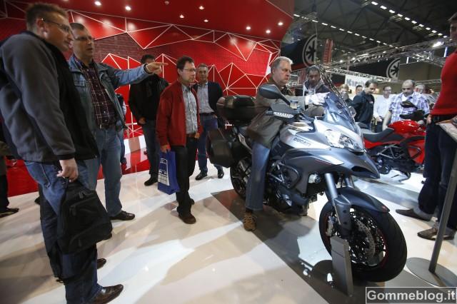 Nuova Ducati Multistrada 1200: grande successo di pubblico ad INTERMOT