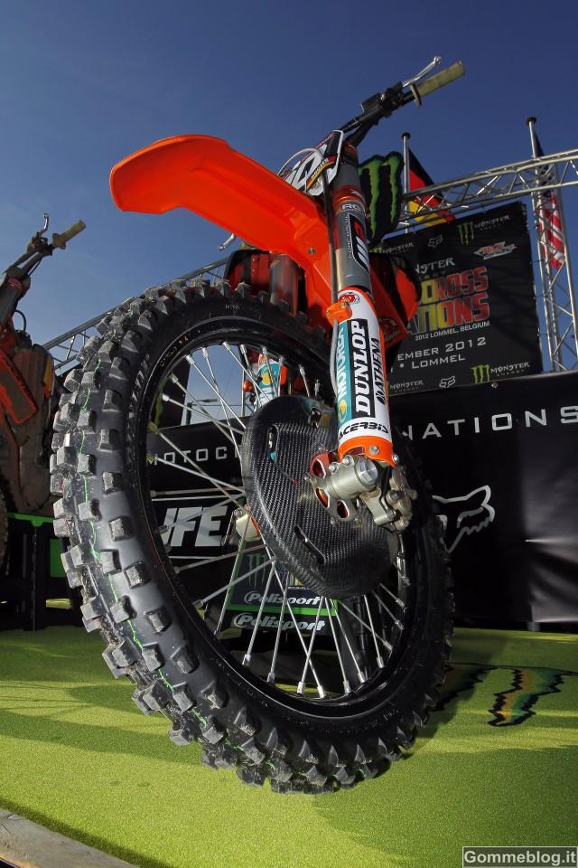Pneumatici Dunlop protagonisti al Motocross delle Nazioni