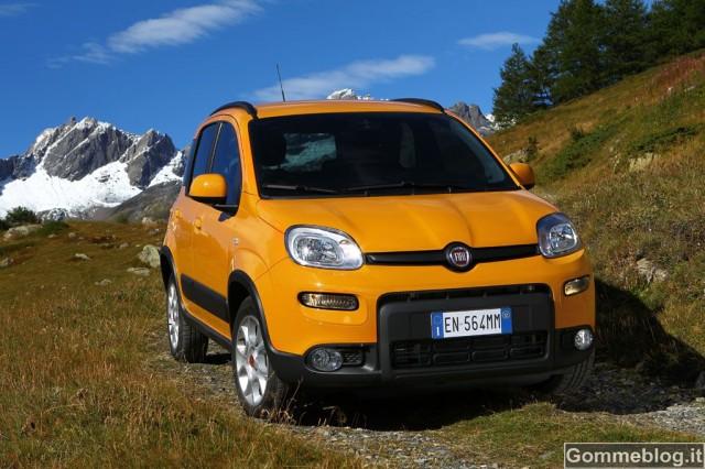 """Nuova Fiat Panda Trekking: il nuovo """"City Utility Vehicle"""" di Fiat 8"""