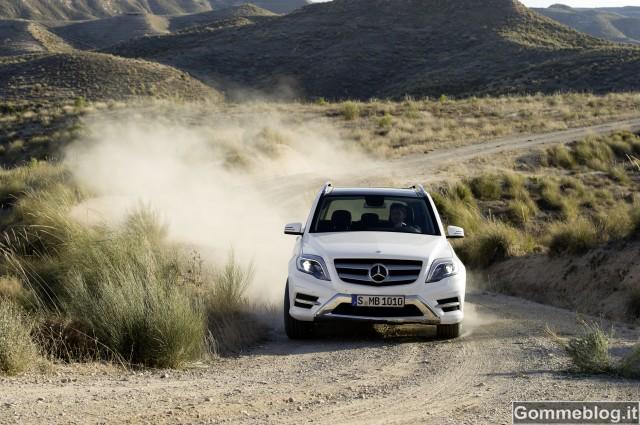 Mercedes Classe G e GLK al 4x4FEST Carrara 2012 2