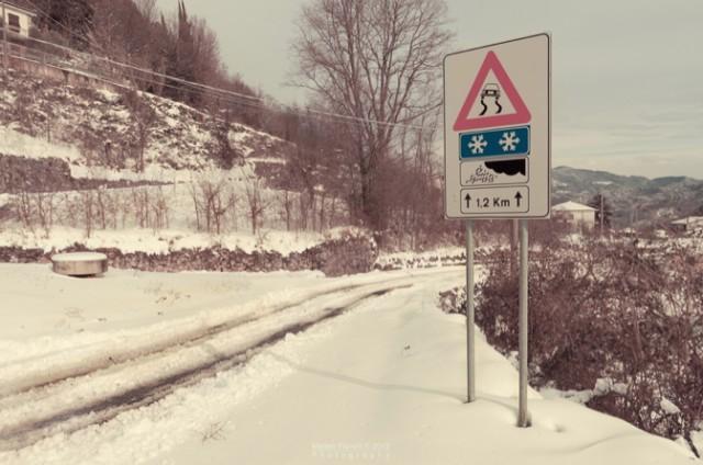 Neve in Autostrada: i tratti con obbligo di pneumatici invernali e catene