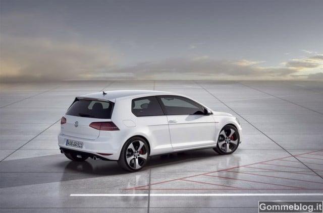 Nuova VW Golf GTI Prototipo 2