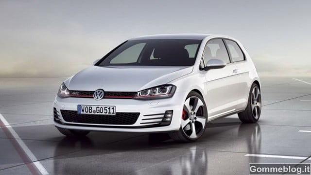Nuova VW Golf GTI Prototipo