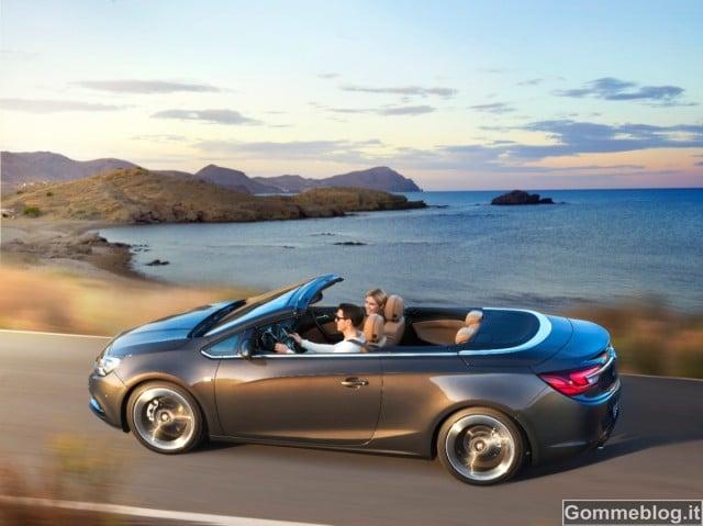 Opel Cascada: la nuova Cabrio Atletica e Seducente