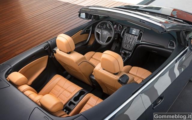 Opel Cascada: la nuova Cabrio Atletica e Seducente 3