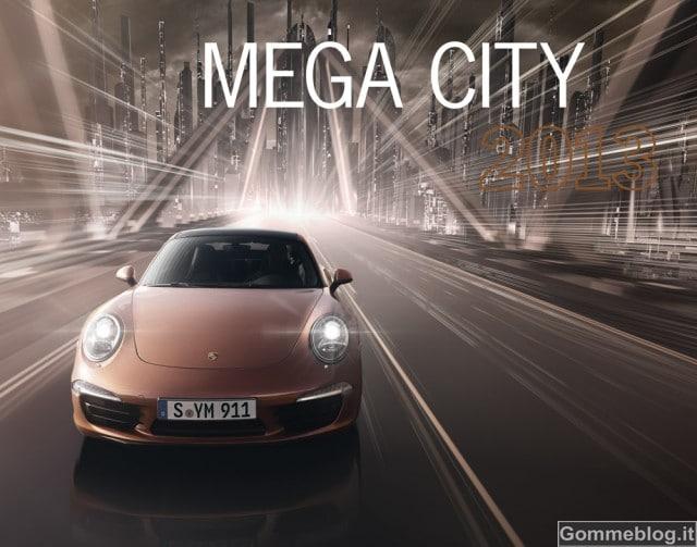 """Porsche presenta il nuovo calendario Porsche """"Mega City"""" 2"""