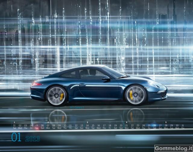 """Porsche presenta il nuovo calendario Porsche """"Mega City"""""""
