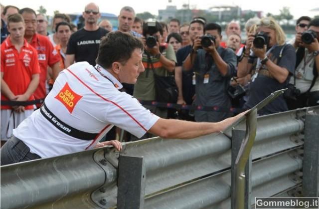 Omaggio a Marco Simoncelli: una Targa in Suo Onore