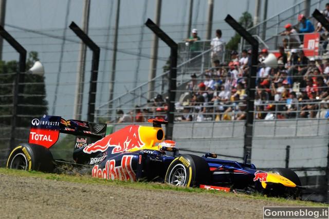 F1 Giappone: Vettel in Pole con … una scelta di pneumatici insolita
