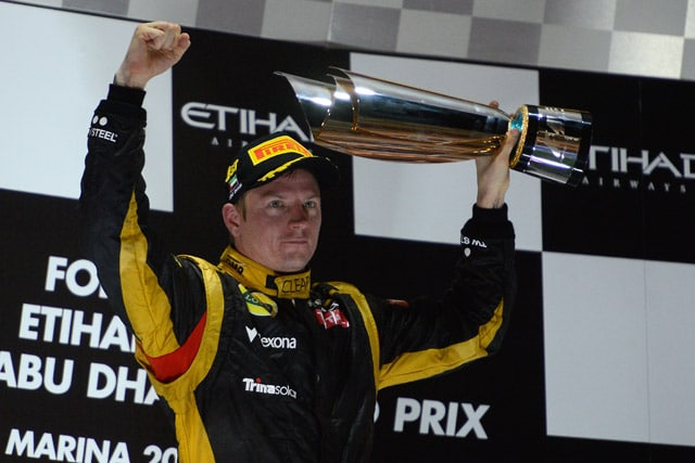 Raikkonen: vince ad Abu Dhabi con 1 solo pit-stop 1