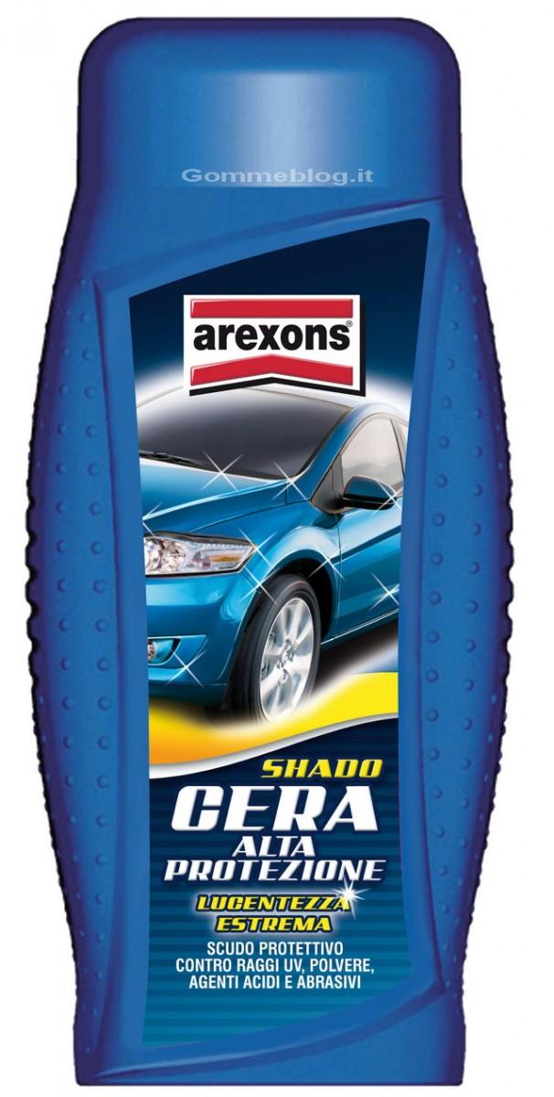 Arexons Shado Cera Alta Protezione: per una carrozzeria protetta e lucente 1