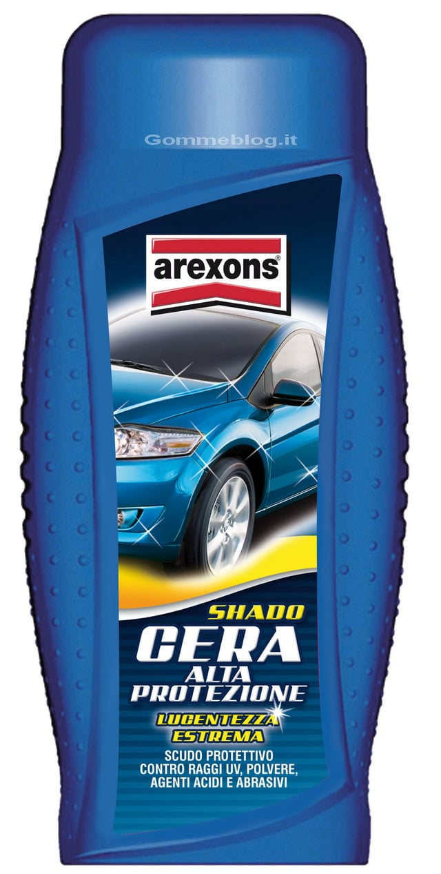 Arexons Shado Cera Alta Protezione: per una carrozzeria protetta e lucente