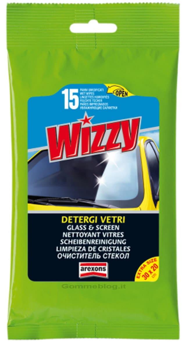 Arexons Wizzy Detergi Vetri: salviette per un parabrezza sempre pulito